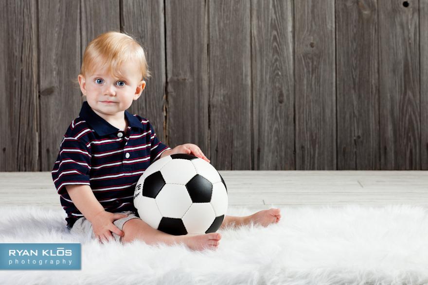 1-year-old Studio Portraits | Ryan Klos Photography, Woodstock, IL portrait photographer.