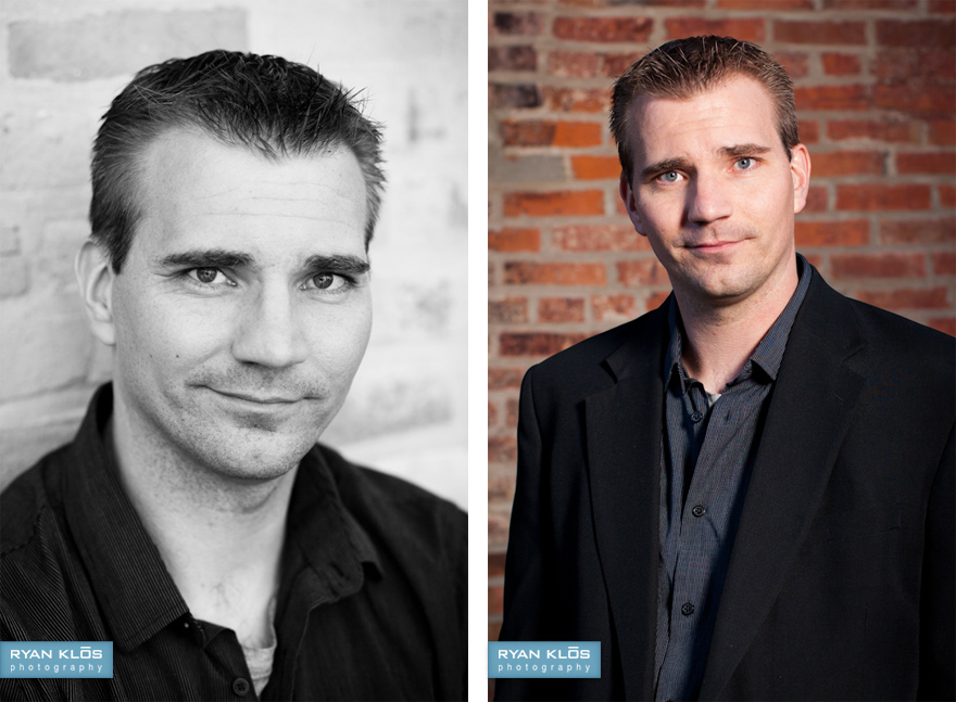 Professional Headshots | Ryan Klos Photography, Woodstock, IL portrait photographer.