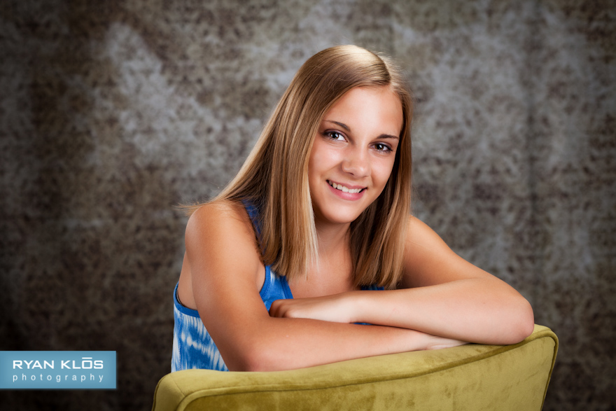 8th Grade Portraits | Ryan Klos Photography, Woodstock, IL portrait photographer.