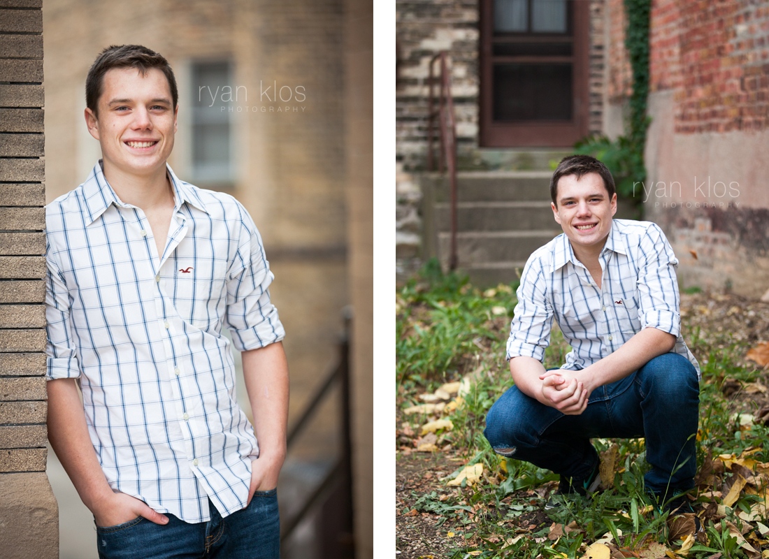 Woodstock High School Senior Portraits by Ryan Klos
