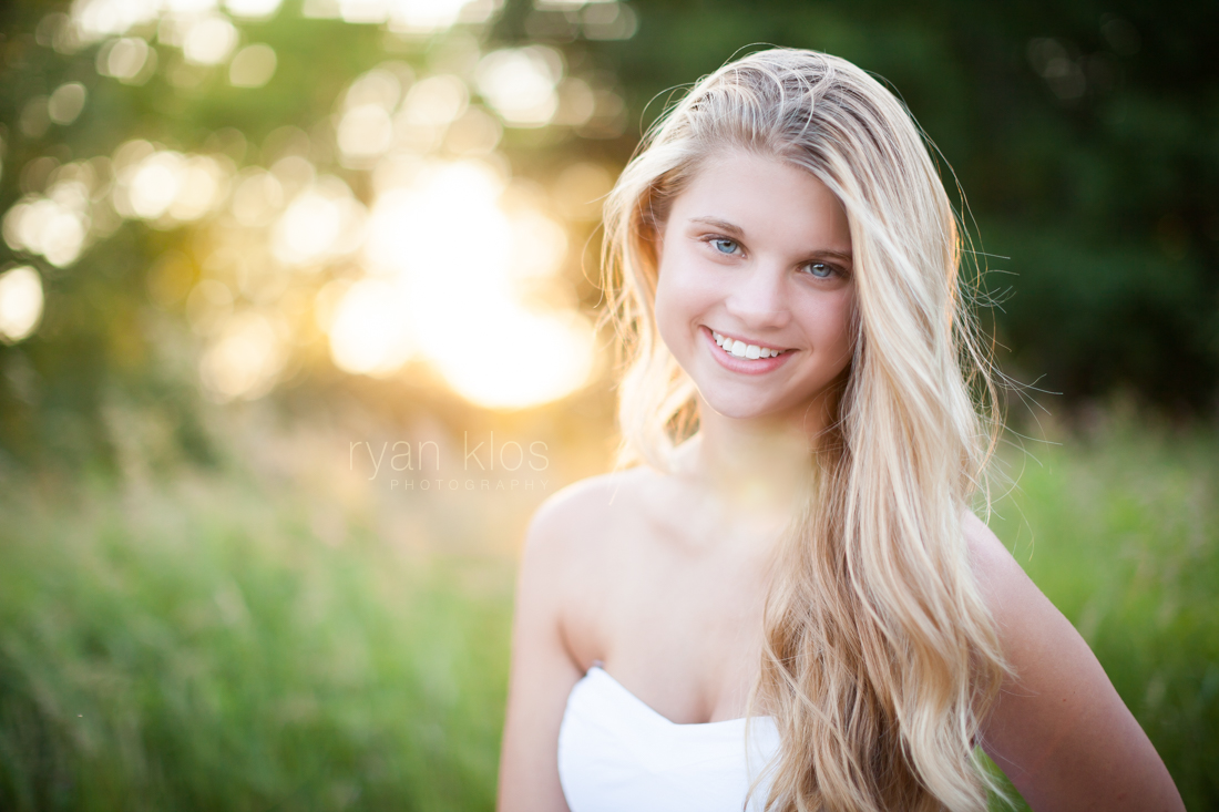 Senior Portraits at Moraine Hills State Park